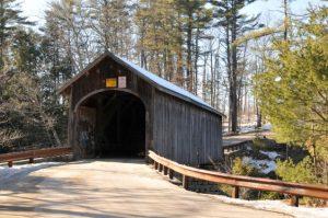 Covered bridge in Windham Maine